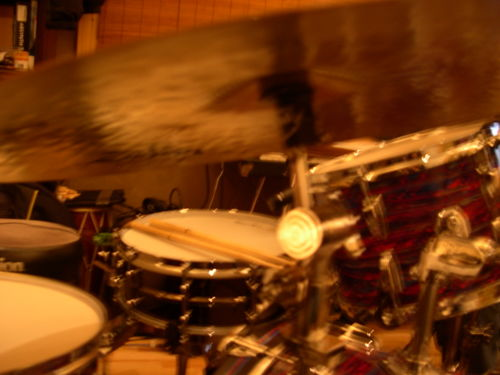 Drums are pretty.