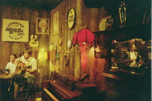 Leg lamp in New Orleans.